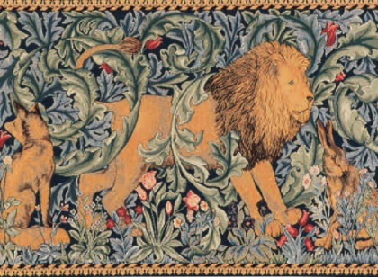 77794 William Morris Forest Tapestry 50x85 cm en 75x125 cm